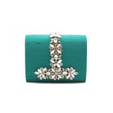 Regale Embellished Green Bag