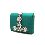 Royal Embellished Green Bag