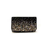 Céleste Mini Black Clutch