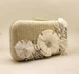 Luxe Boho Embellished Clutch Bag