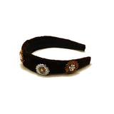Celeste Dark Brown Headband