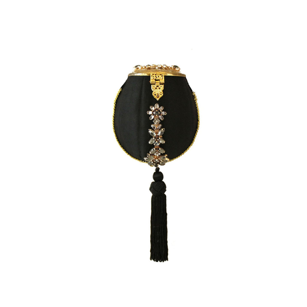 Limited Edition Embellished Tassel Purse