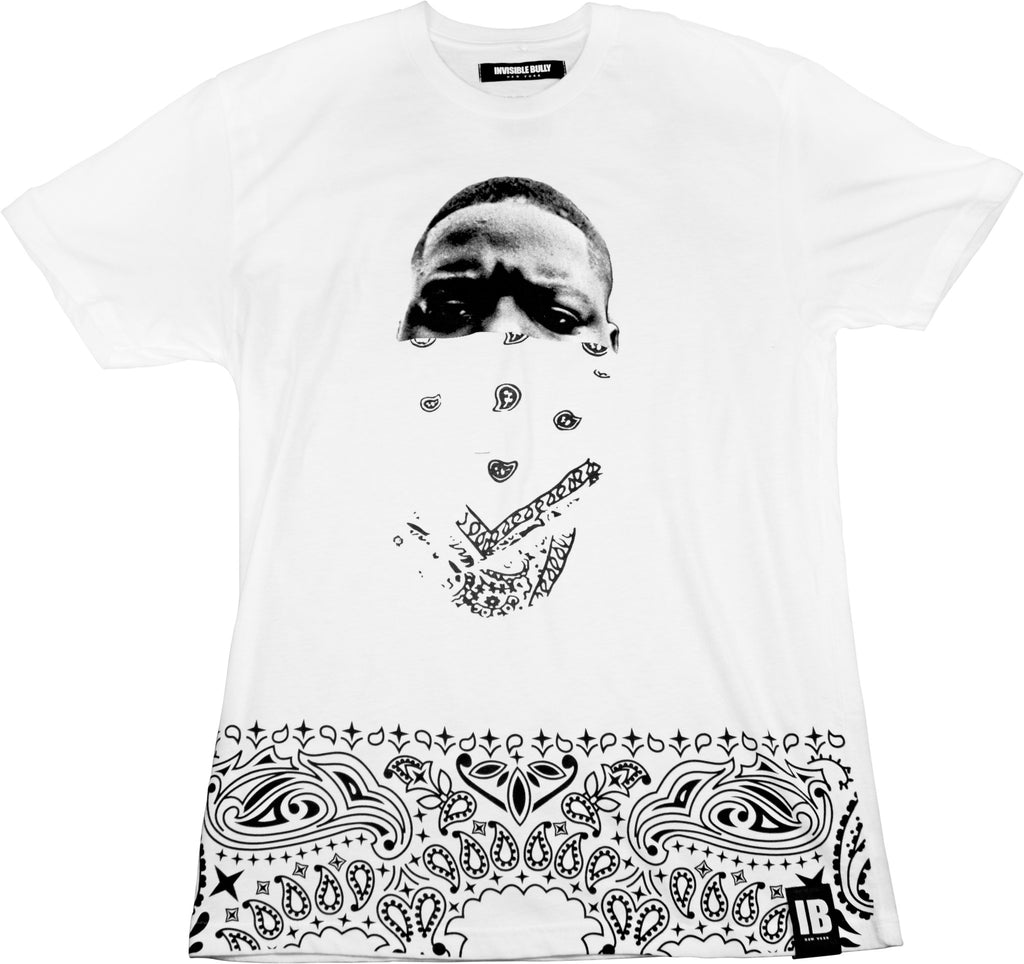 LEGENDS NEVER DIE: BIGGIE TEE WHITE