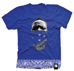 LEGENDS NEVER DIE: BIGGIE SS TEE DODGER BLUE