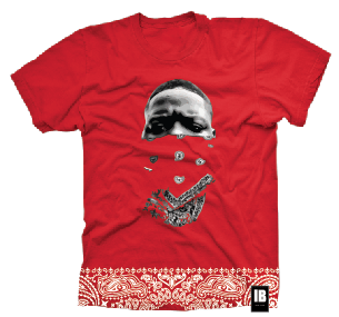 LEGENDS NEVER DIE: BIGGIE SS TEE RED