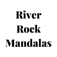 river rock mandalas