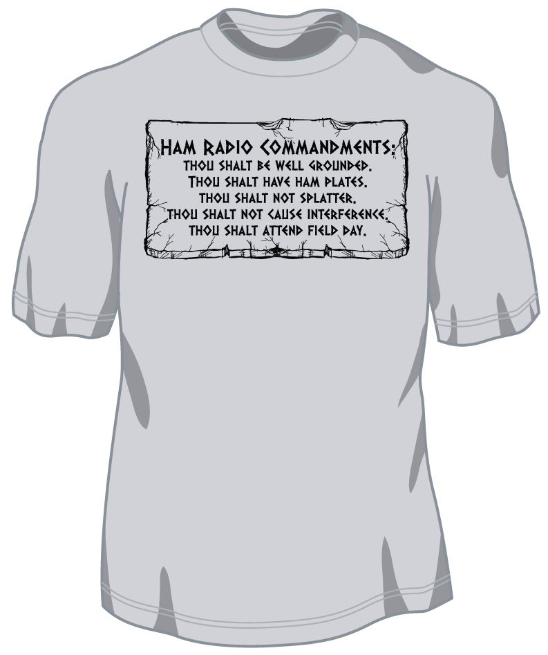 T160 - Ham Radio Commandments