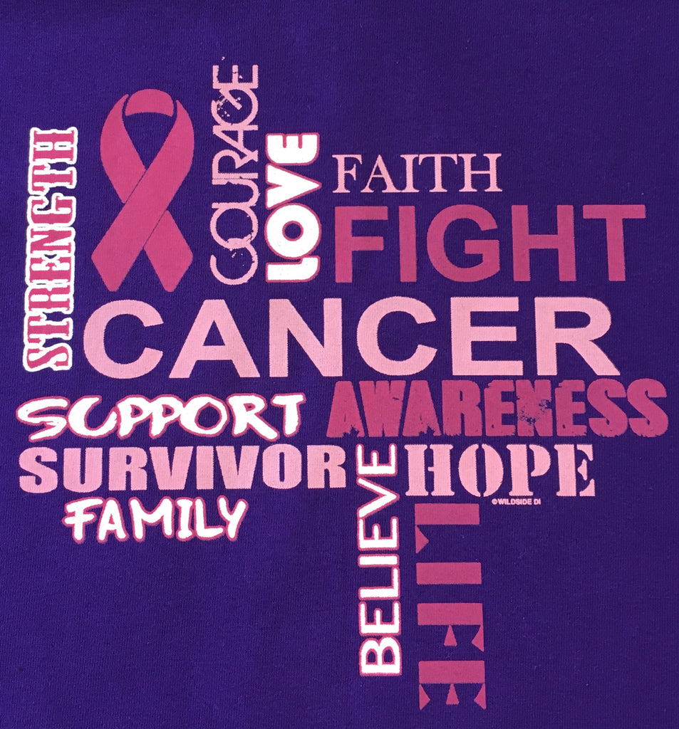 Montage of Hope Breast Cancer Survivor t shirt