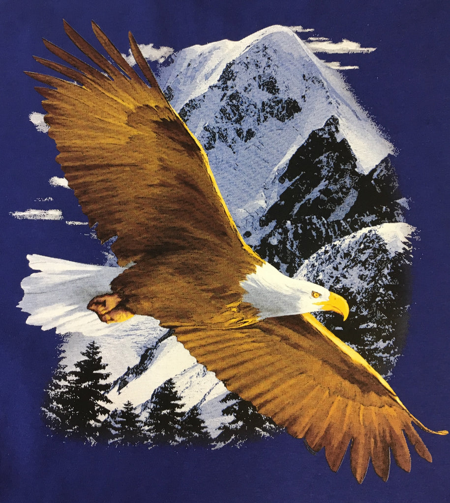 Flying Bald Eagle shirt