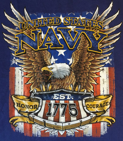 Navy Armed Forces eagle t shirt