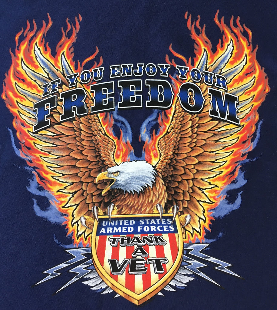 Freedom, Thank a Vet T shirt