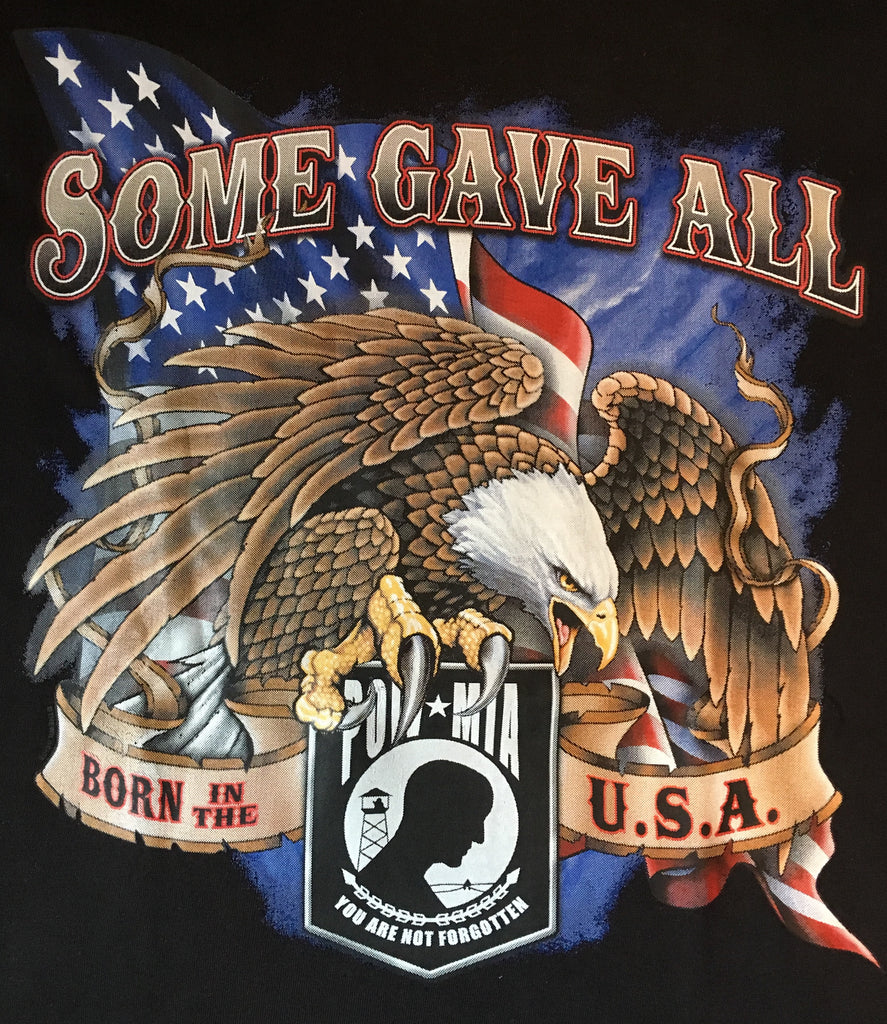 MIA / POW Some Gave All t shirt