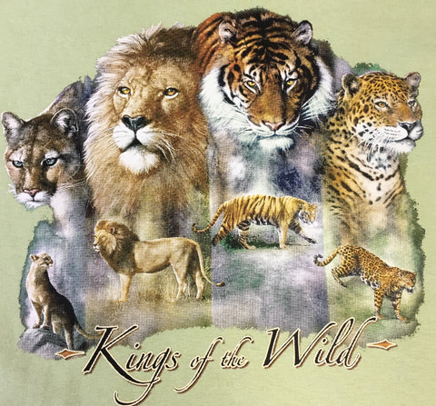 Exotic Big Cats t shirt