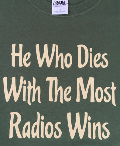 T105 - Dies With Most Radios Wins