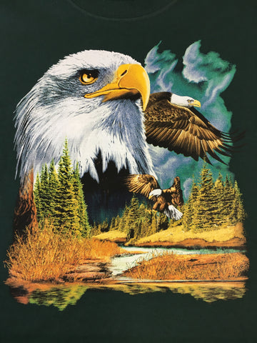 Majestic Bald Eagles shirt