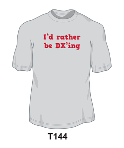 T144 - I'd Rather Be DX'ing