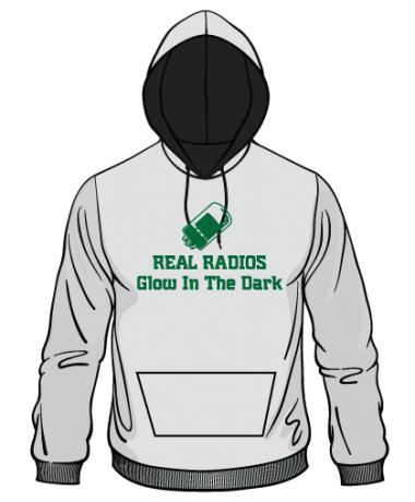 H116- Real Radios Glow in the Dark