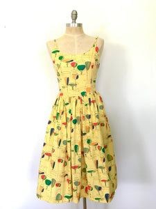 "Bettie Page ""Drinks Anyone"" Dress"