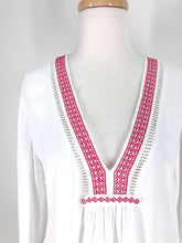 Load image into Gallery viewer, Tigerlily embroidered blouse