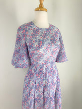 Load image into Gallery viewer, Daisy Print Japanese Vintage dress