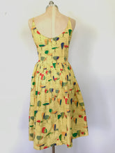 "Load image into Gallery viewer, Bettie Page ""Drinks Anyone"" Dress"
