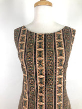 Load image into Gallery viewer, 60s style dress Batik