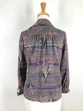 Load image into Gallery viewer, 70s Japanese Vintage Wheat Print Ladies shirt