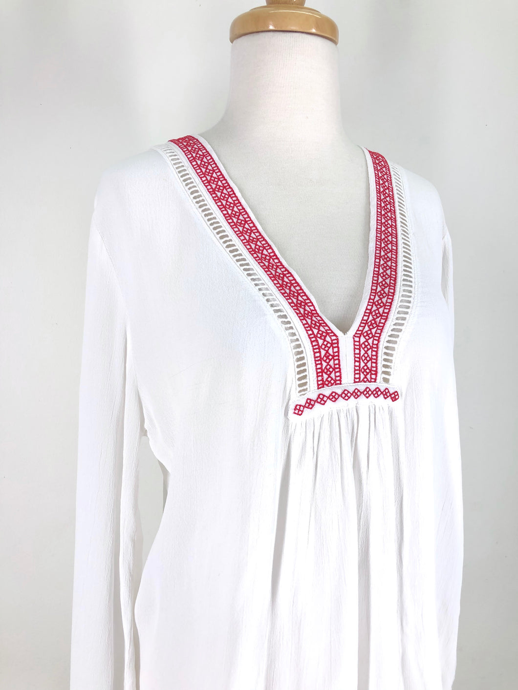 Tigerlily embroidered blouse