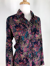 Load image into Gallery viewer, 70s paisley print shirt