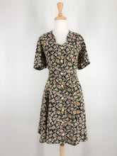 Load image into Gallery viewer, 90s button front dress