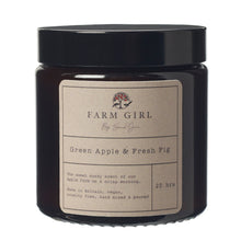 Load image into Gallery viewer, Green Apple & Fresh Fig Candle