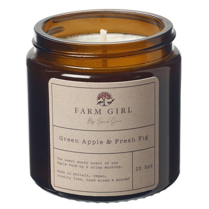 Green Apple & Fresh Fig Candle