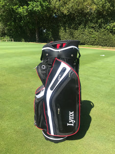 Lynx Black Cat Cart Bag