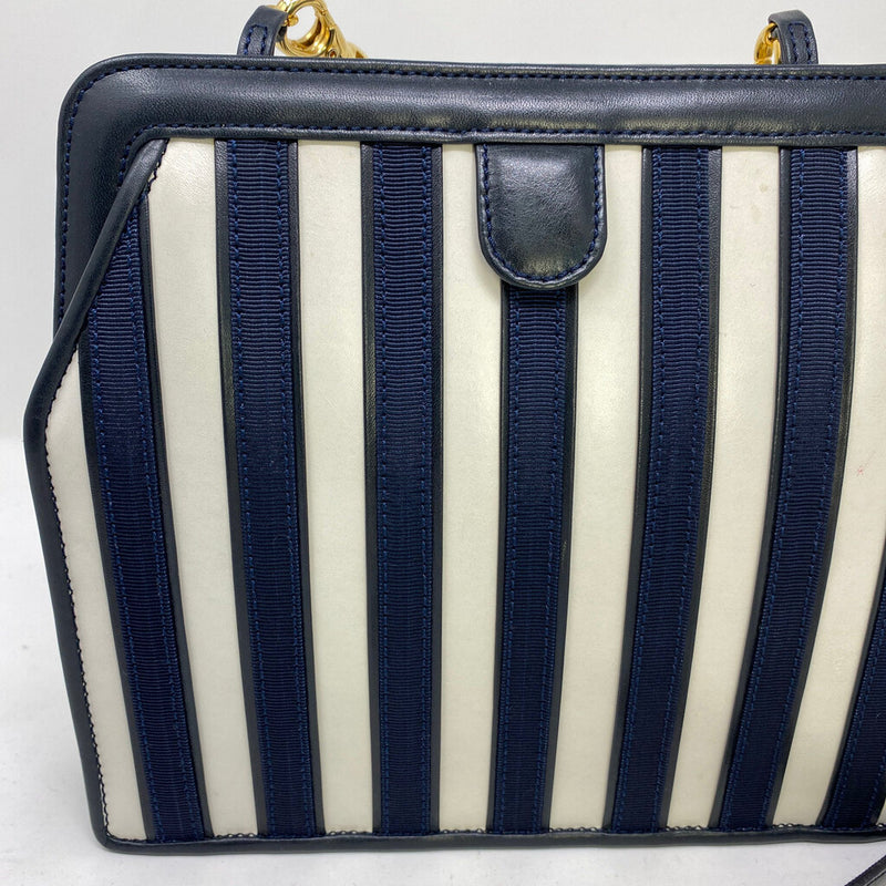 vintage striped with strap