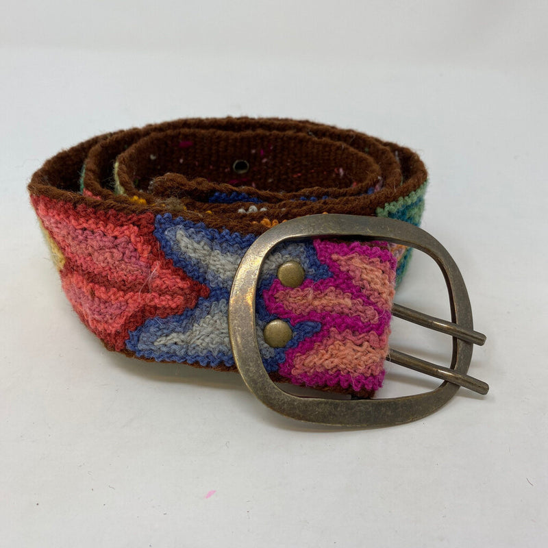 woven embroidered belt
