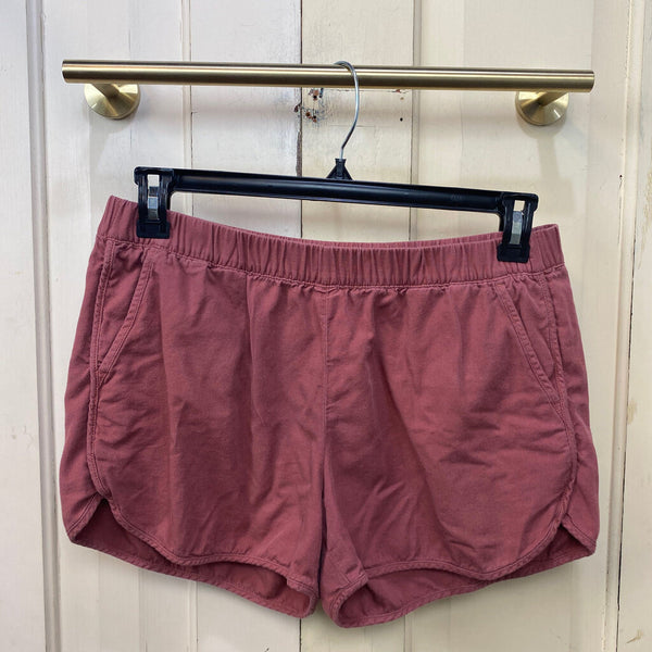 cotton elastic waist shorts