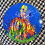 Leroy Neiman collector plate