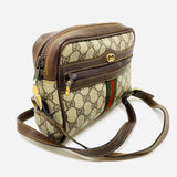 "retro ""GG"" Gucci cross body"