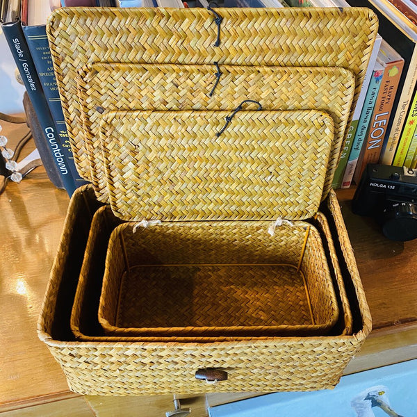 3 piece nesting baskets