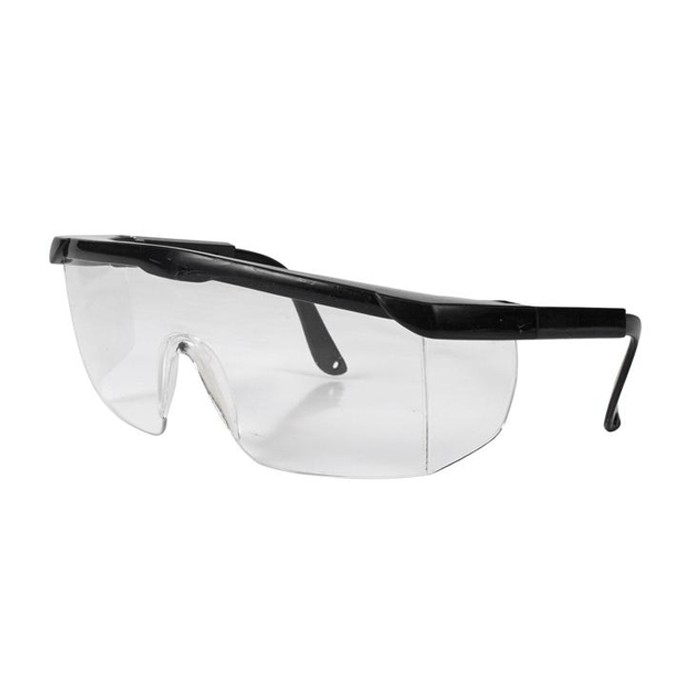 Protective goggles with side coverage and anti fog lenses