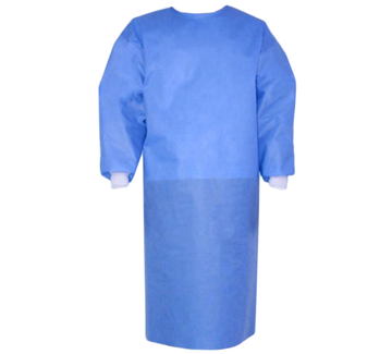 Isolation Gown - Sterile - Velcro Neck Tie