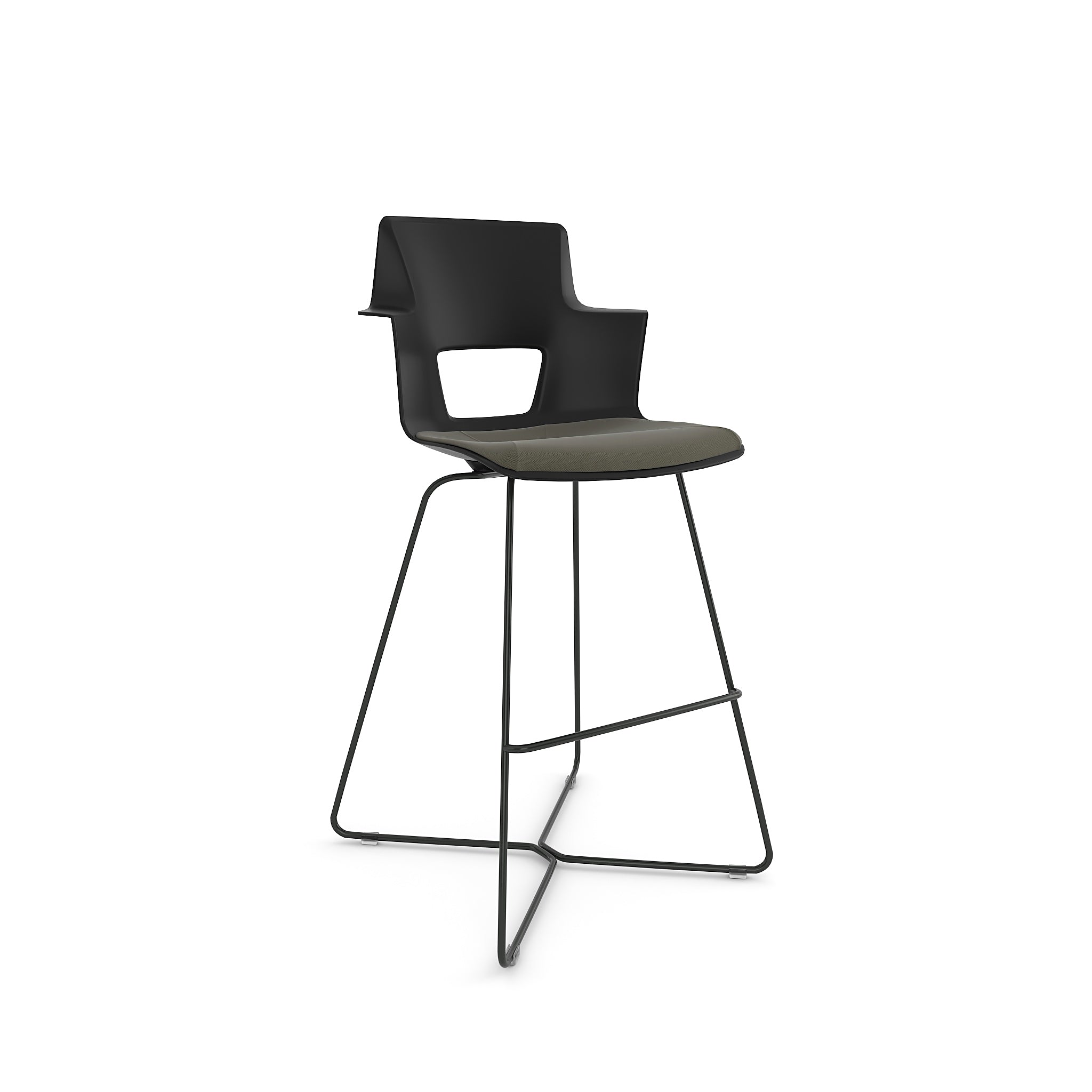 Shortcut X Base Stool - Steelcase
