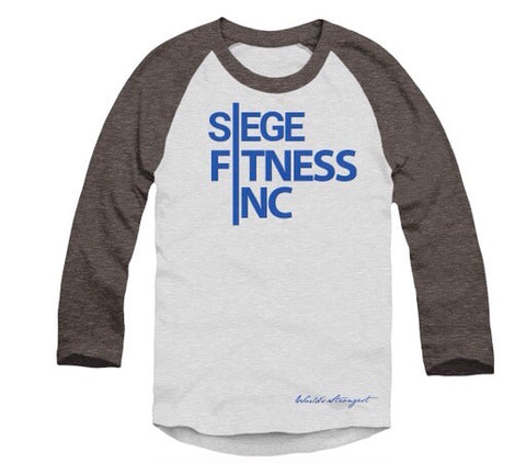 Siege Fitness INC- 3/4 sleeve