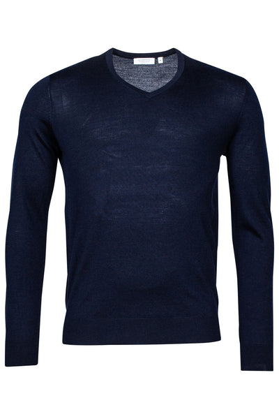 Blauwe Pullover Lange Mouw - Pullover - Giordano Blue - Blauwe Pullover Lange Mouw - 720110/60/S