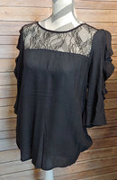 Lace 3/4 Sleeve Top