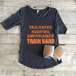 Train Hard Tailgating Tee