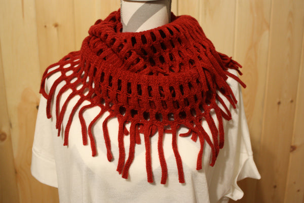 Fringe Infinity Scarf (3 Colors)