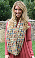 Wrap Me In Color scarf
