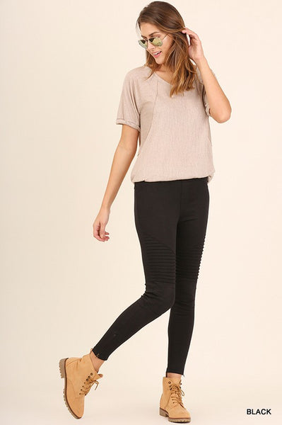 Moto Jeggings (3 colors)