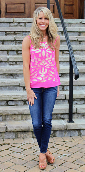 Sprinkle Sparkle Pink Top